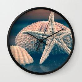 seashells 4 Wall Clock
