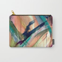 Brave -  a colorful acrylic and oil painting Carry-All Pouch