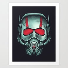 Ant-hero Art Print