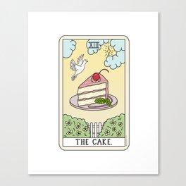 CAKE READING Canvas Print