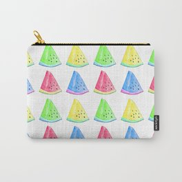 Watermelon Color Mix Carry-All Pouch