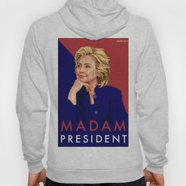 Hillary Poster  Hoody