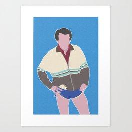 ALAN PARTRIDGE Art Print
