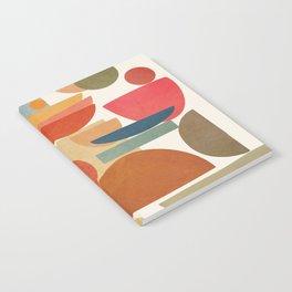 Modern Abstract Art 78 Notebook
