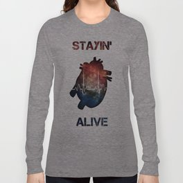The Need to Live Long Sleeve T-shirt