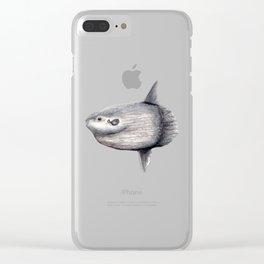 Ocean Sunfish (Mola mola) Clear iPhone Case