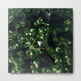 Tereahedron Metal Print