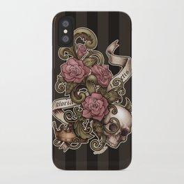 Gloria Invictis iPhone Case