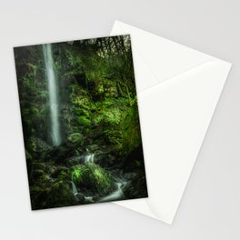 Mallyan in Green Stationery Cards