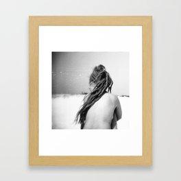 B&W Wild Beauty Framed Art Print