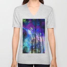 fantasy sky Unisex V-Neck