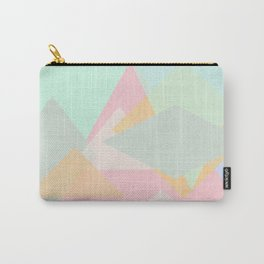 spring pastel abstract pattern design Carry-All Pouch