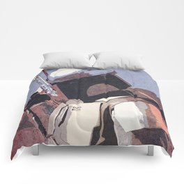 Bobba Fett | The Bounty Hunter | Star War Art Comforters