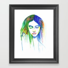 Sadness is a Blessing Framed Art Print