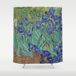 Vincent van Gogh,  Irises. Shower Curtain