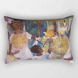 'Kids' by Robert Lee Rectangular Pillow