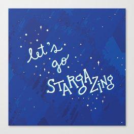 Let's Go Stargazing Canvas Print