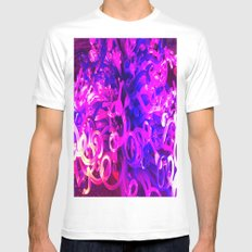 Glass Sculpture Mens Fitted Tee White SMALL