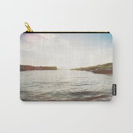 Sunlit Sea Carry-All Pouch
