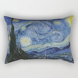 The Starry Night by Vincent van Gogh Rectangular Pillow