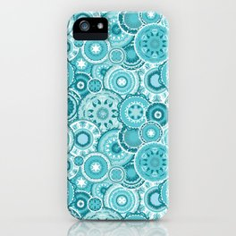 Moroccan vector pattern iPhone Case