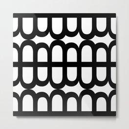 B Pattern Metal Print
