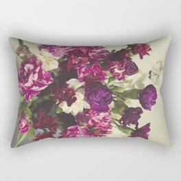 Carnations Rectangular Pillow