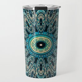 Candys Mandala Art 3 Travel Mug