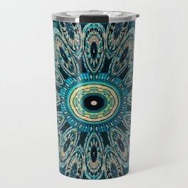 Candys Mandala Art 3 Travel Mug