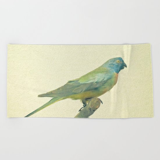 Bird Study #3 Beach Towel