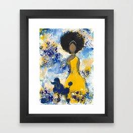 RHOyal Angel Framed Art Print