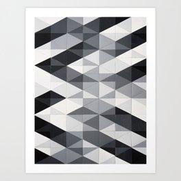 Geo Gradation Art Print