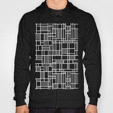 Map Lines Black Hoody
