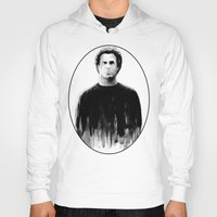 will ferrell Hoodies featuring DARK COMEDIANS: Will Ferrell by Zombie Rust