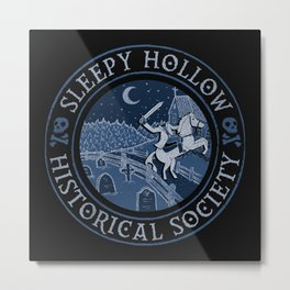 Sleepy Hollow Historical Society Metal Print