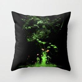 Magic tree Throw Pillow