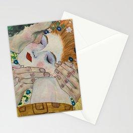 Kiss- Klimt  Stationery Cards