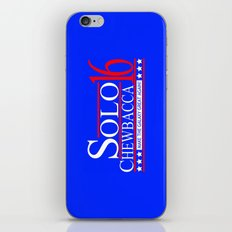 Han Solo & Chewbacca For President! 2016 iPhone & iPod Skin