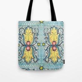Double Hamsa Tote Bag