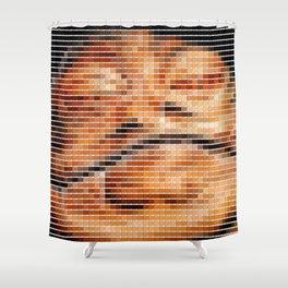 Jabba - StarWars - Pantone Swatch Art Shower Curtain