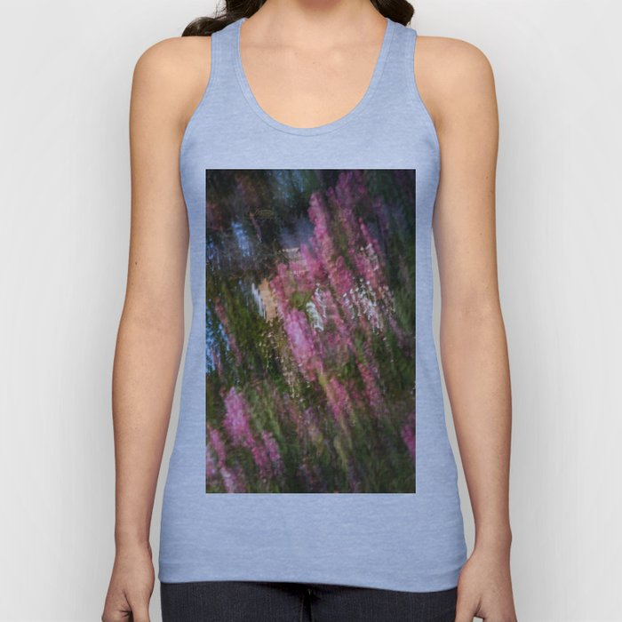 Flowering Crab Abstract Unisex Tank Top