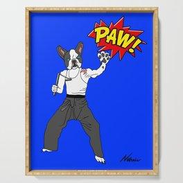 PAW POW - Kungfu Dog Serving Tray
