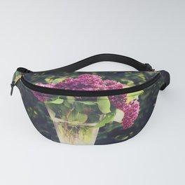 Lilac Bouquet Fanny Pack