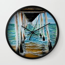 jetty of love Wall Clock