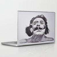 salvador dali Laptop & iPad Skins featuring Salvador Dali by Blasto17