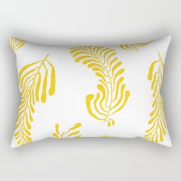 Yellow Rectangular Pillow