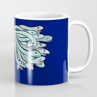 medusa Mugs featuring Medusa. by Bloglaurel
