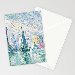 """Paul Signac """"Les Tours Vertes, La Rochelle"""" Stationery Cards"""
