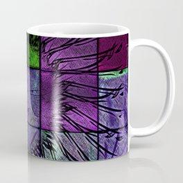 Purple stained glass Coffee Mug
