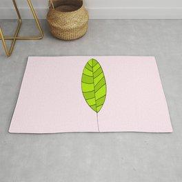 lonely leaf - Rug